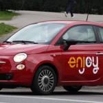 """Catania. Arriva """"Enjoy"""", il car-sharing delle metropoli. Voucher omaggio agli iscritti"""