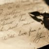 Credit line (HTML Code):  © Iurii Sokolov | Dreamstime.com  Title:  Old love letter  Description:  Love letter and antique quill on a black background  Photo taken on: March 26th, 2010      ID:     13697480      Level:     3      Views :     389      Downloads:     5      Model released:     NO      Content filtered:     NO  Keywords (Report | Suggest)  fashioned pen paper nostalgia copy old history handwriting love quill romance calligraphy letter manuscript antique mail reading retro writing memories