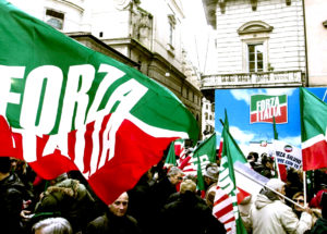 Rally in support of Silvio Berlusconi
