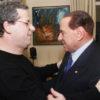 Gianfranco Miccichè (coordinatore di Forza Italia in Sicilia) ed il leader azzurro Silvio Berlusconi