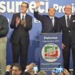 """Berlusconi per Musumeci a Palermo: """"E' la garanzia per tutti"""""""