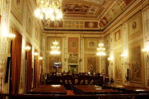 L'Aula dell'Assemblea Regionale Siciliana.