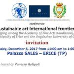 Sicilia. Belle Arti di Trapani e Ethicando di Milano per iniziativa su ceramiche e porcellane