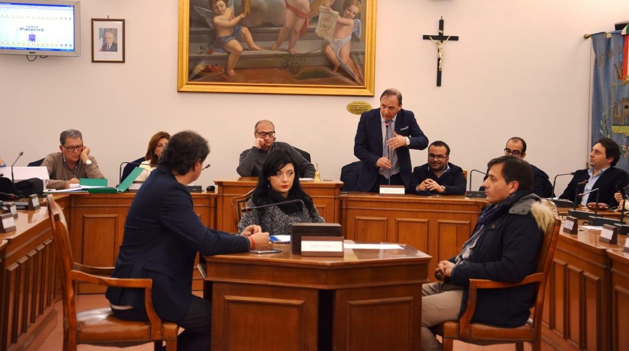 Un momento della seduta in cui è stato approvato il bilancio preventivo 2017. (Foto: Francesco Magrì)