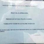 Choc a Genova: palme pasquali vendute a scuola per finanziare i rom