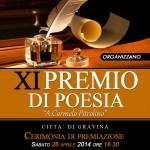 """Gravina, Sabato 26 Aprile premio di poesia """"A Carmelo Pitrolino"""""""