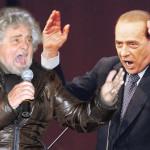 """Berlusconi micidiale su Grillo: """"Assassino ed evasore"""""""