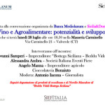 """A Valverde (Ct) talk show sul tema """"Vino e Agroalimentare: potenzialità e sviluppo"""" il 28 luglio"""