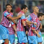 """Calcio, show del Catania contro l'Entella al """"Massimino"""". Finisce 5-1"""