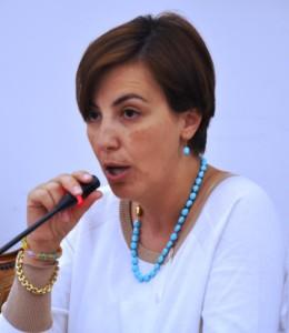 Il presidente del consiglio comunale di Paternò, Laura Bottino (Foto F. Magrì)