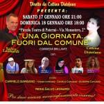 """Teatro a Paternò, il gruppo """"Attori Nati"""" al Piccolo Teatro il 17 e 18 gennaio"""