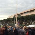 Paternò, passerella politica alla manifestazione per l'Ospedale