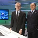 Questa sera Silvio Berlusconi da Mentana su La7