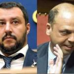 """Comizio Salvini, accerchiato e inseguito da Centri Sociali. Alfano: """"E' normale"""""""
