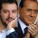 """Salvini: """"Faccio con Silvio un governo alternativo a Renzi"""""""