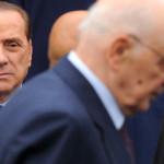 """Berlusconi: """"Napolitano? Un golpista. Non dovrebbe parlare"""""""