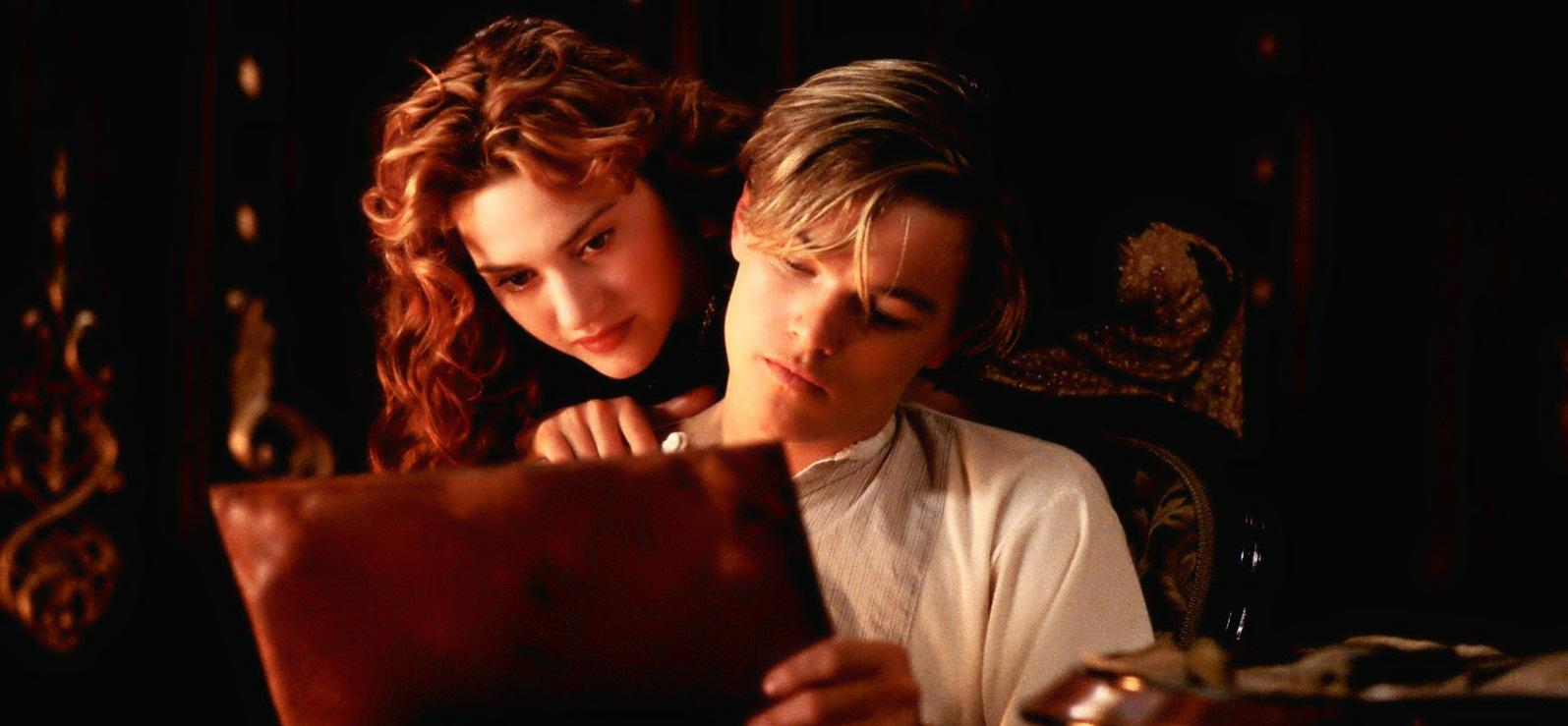 Una scena del film Titanic. Questa sera la seconda parte su Canale5 in prima serata