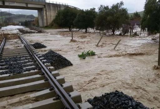 messina alluvione disagi