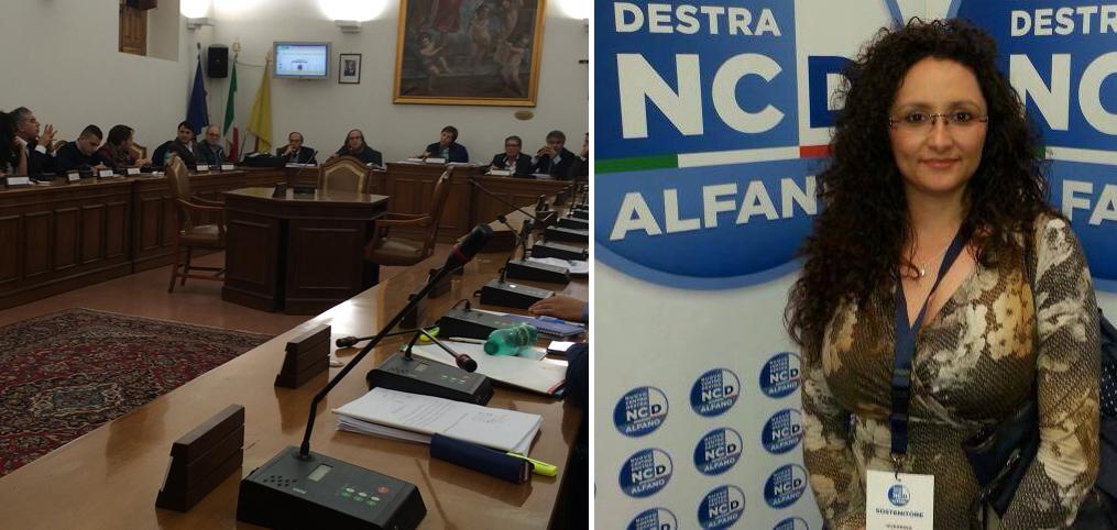 Consiglio Comunale - Guerrina Buttò, coordinatore cittadino NCD Paternò