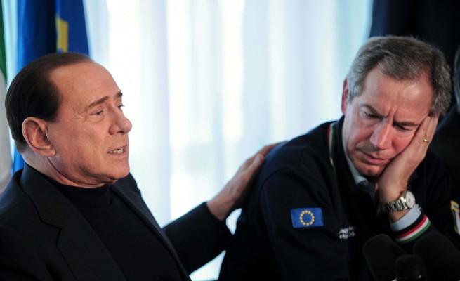 Silvio Berlusconi e Guido Bertolaso