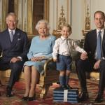 I novant'anni di Elisabetta II. La foto di famiglia con Carlo, William e George, futuri re