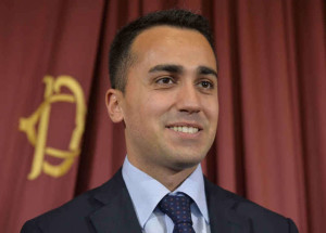Luigi Di Maio, capo politico del M5S