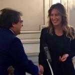 """La Boschi a Catania sente """"profumo di futuro"""": vittoria al referendum e Bianco alla Regione"""