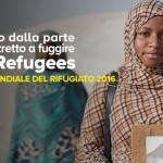#WithRefugees per il sostegno ai rifugiati. C'è anche papa Francesco