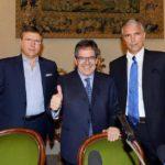 """Calcio Catania, Lo Monaco e Bianco: """"Collaborare per vincere, serve rilancio"""""""