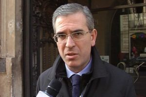 Marco Falcone, capogruppo di Forza Italia all'Ars