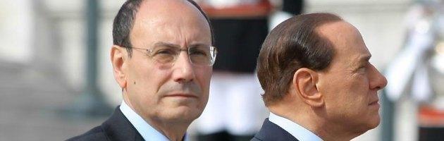 Schifani e Berlusconi