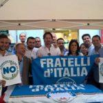 """Ragalna. Oggi manifestazione di FDI per il """"No"""" a Referendum"""