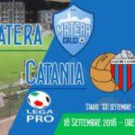 Matera Catania 0-0: ancora soltanto un pareggio per i rossazzurri