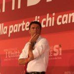 Renzi ieri a Catania, contestazioni e scontri