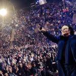 Renato Zero all'Arena. Il concerto su Raiuno il 17 settembre
