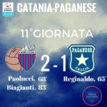 Catania Paganese 2-1: Paolucci e Biagianti regalano la seconda gioia casalinga