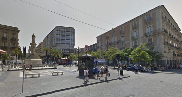 Piazza Stesicoro a Catania