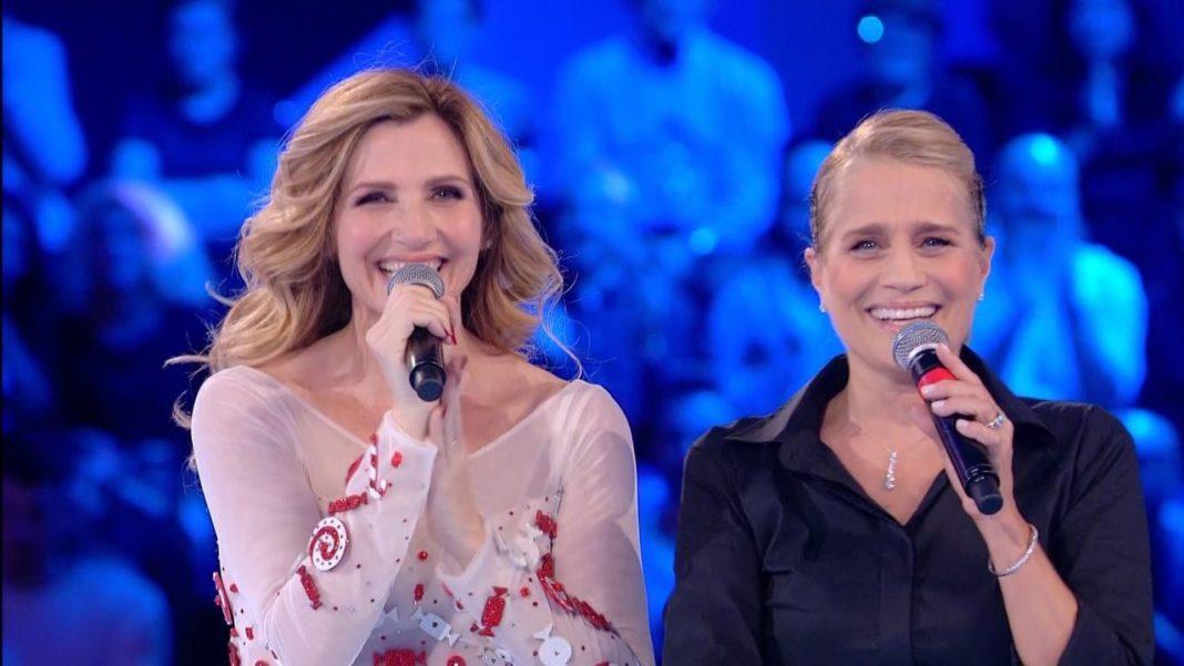 Lorella Cuccarini e Heater Parisi