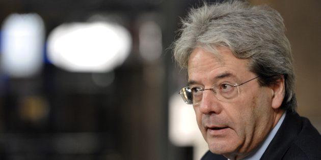 Paolo Gentiloni, ministro degli Esteri del Governo Renzi e nuovo presidente del Consiglio incaricato dal presidente della Repubblica Sergio Mattarella.