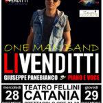 Catania, la musica di Antonello Venditti interpretata da Giuseppe Panebianco