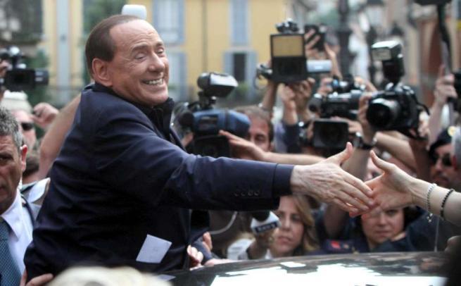 Silvio Berlusconi, leader di Forza Italia