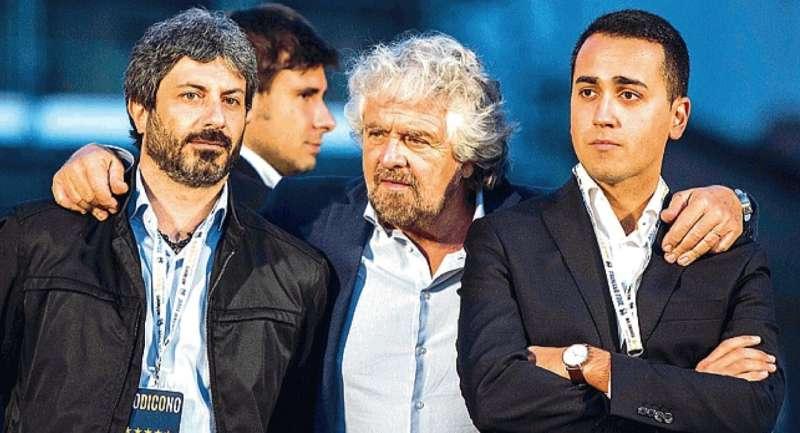 Fico, Grillo e Di Maio
