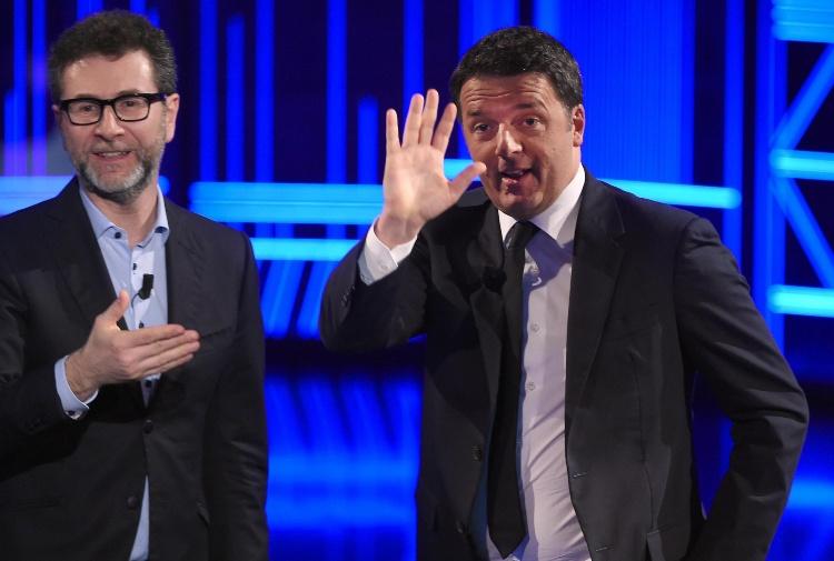 """Matteo Renzi ospite questa sera di Fabio Fazio a """"Che tempo che fa"""" su Rai3"""