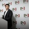 Matteo Renzi alla direzione nazionale Pd