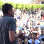 "Paternò, Il palco M5S in piazza: ""Vaffanculo, pezzi di merda"""