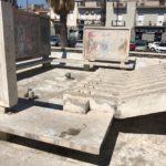 Paternò, dopo anni bonificata fontana di Piazza della Regione
