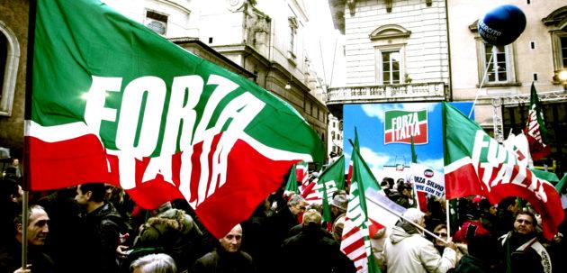 Rally in support of Silvio Berlusconi