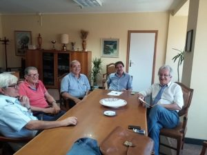 Un'immagine dell'incontro di stamattina.