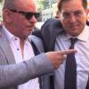 A sinistra Adolfo Messina, allora presidente di Pubbliservizi, insieme a Rosario Crocetta, presidente uscente della Regione Siciliana e riferimento politico di Messina.