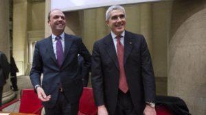 Angelino Alfano e Pierferdinando Casini
